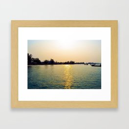 Koh Rong Sunset Framed Art Print