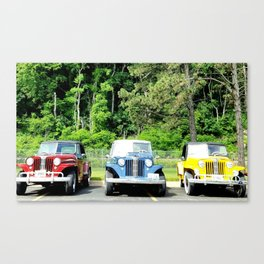 For The Love of Jeepsters Canvas Print