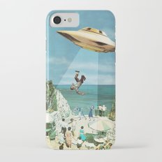 UFO Abduction iPhone 7 Slim Case