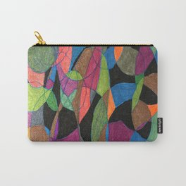 Intertwining Circles Carry-All Pouch