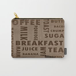 Vintage breakfast Carry-All Pouch