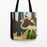pie Tote Bags featuring Pie? by Megan Unser