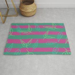Leafy: Leaf+Stripe Rug