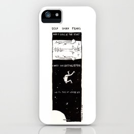 Deep Dark Fears 60 iPhone Case