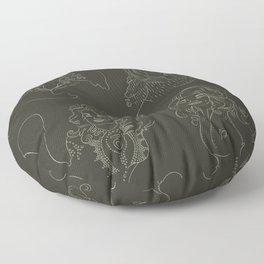 Southern Belle Pattern Floor Pillow