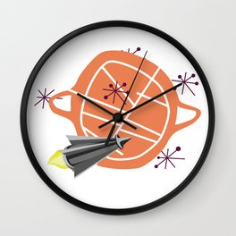 Visit New Worlds Wall Clock