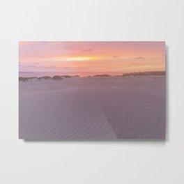Sunset Sound Metal Print