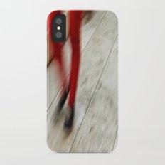 Red Hot Walking Slim Case iPhone X