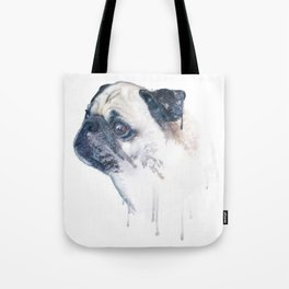 Pug Forest Tote Bag