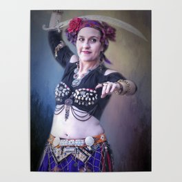 The Belly Dancer Poster