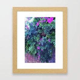 Vertical Silvestria Framed Art Print