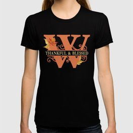Thanksgiving W Monogram T-shirt