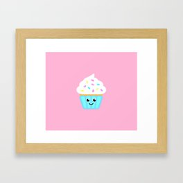 The cutest cupcake in town! Framed Art Print