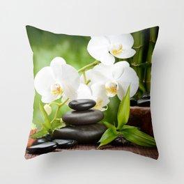 spa Throw Pillow