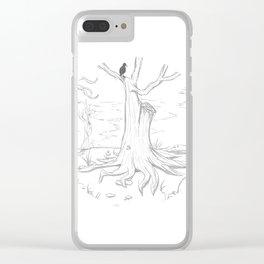 Fairy Circle Clear iPhone Case