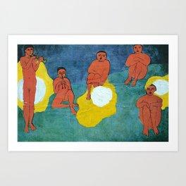 Egg N Matisse Art Print