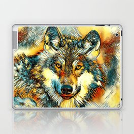 AnimalArt_Wolf_20170601_by_JAMColorsSpecial Laptop & iPad Skin