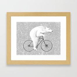 Polar Express Framed Art Print