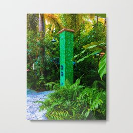 Shower with nature Metal Print
