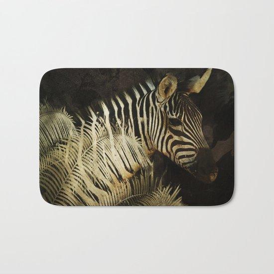 The Zebra Bath Mat