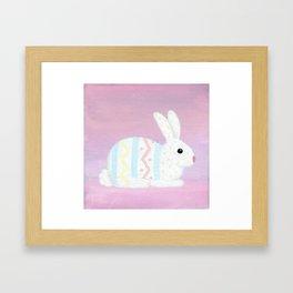 The Real Easter Bunny Framed Art Print