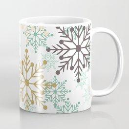 Christmas pattern with snowflakes. Coffee Mug