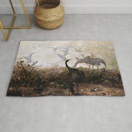 Jozef Chelmonski - Cranes - Digital Remastered Edition Rug