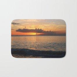 A Cayman Sunset Bath Mat