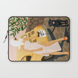 Tour #illustration Laptop Sleeve