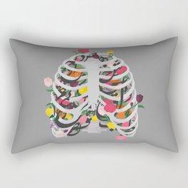 Rib cage Rectangular Pillow