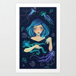 Calypso by Ane Teruel Art Print
