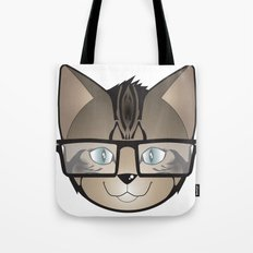 Tabby Glasses Tote Bag