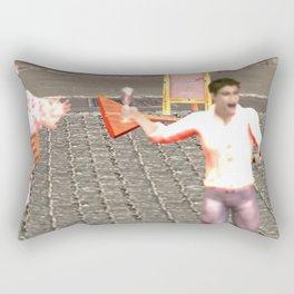SquaRed: New Order Same Rules Rectangular Pillow
