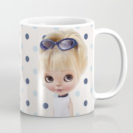 NAVY BLYTHE DOLL MEGAN BY ERREGIRO Coffee Mug