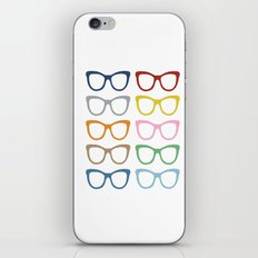 Glasses #2 iPhone Skin