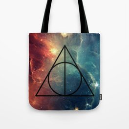 Deathly Hallows Cosmos HP Tote Bag