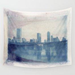 Austin Reflected Polaroid Transfer Wall Tapestry