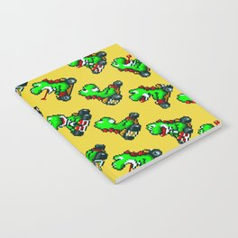 Yoshi pattern | Super Mario Kart | Yellow Notebook