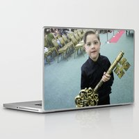 key Laptop & iPad Skins featuring Key by Faith Buchanan