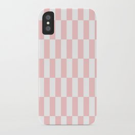 Pink Blocks pattern iPhone Case