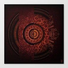 Composition Shields 2 Canvas Print