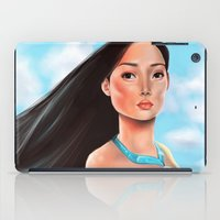 pocahontas iPad Cases featuring Pocahontas by Sam Pea