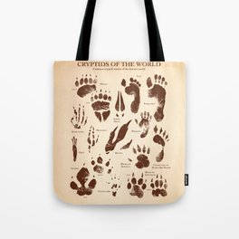 Cryptids of the World Tote Bag