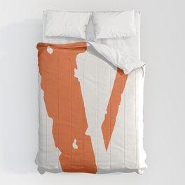 V lone Logo Masque tshirt streetwear  Awge Comforters