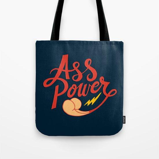 Ass Power Tote Bag