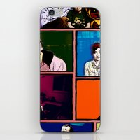 comics iPhone & iPod Skins featuring Comics by AntWoman