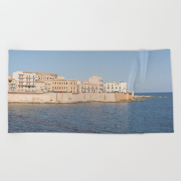 Syracuse Old Town Beach Towel By