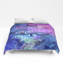 Transcend into your dreams Comforters