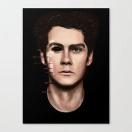 Stiles Stilinski Canvas Print
