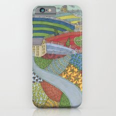 island patchwork iPhone 6 Slim Case